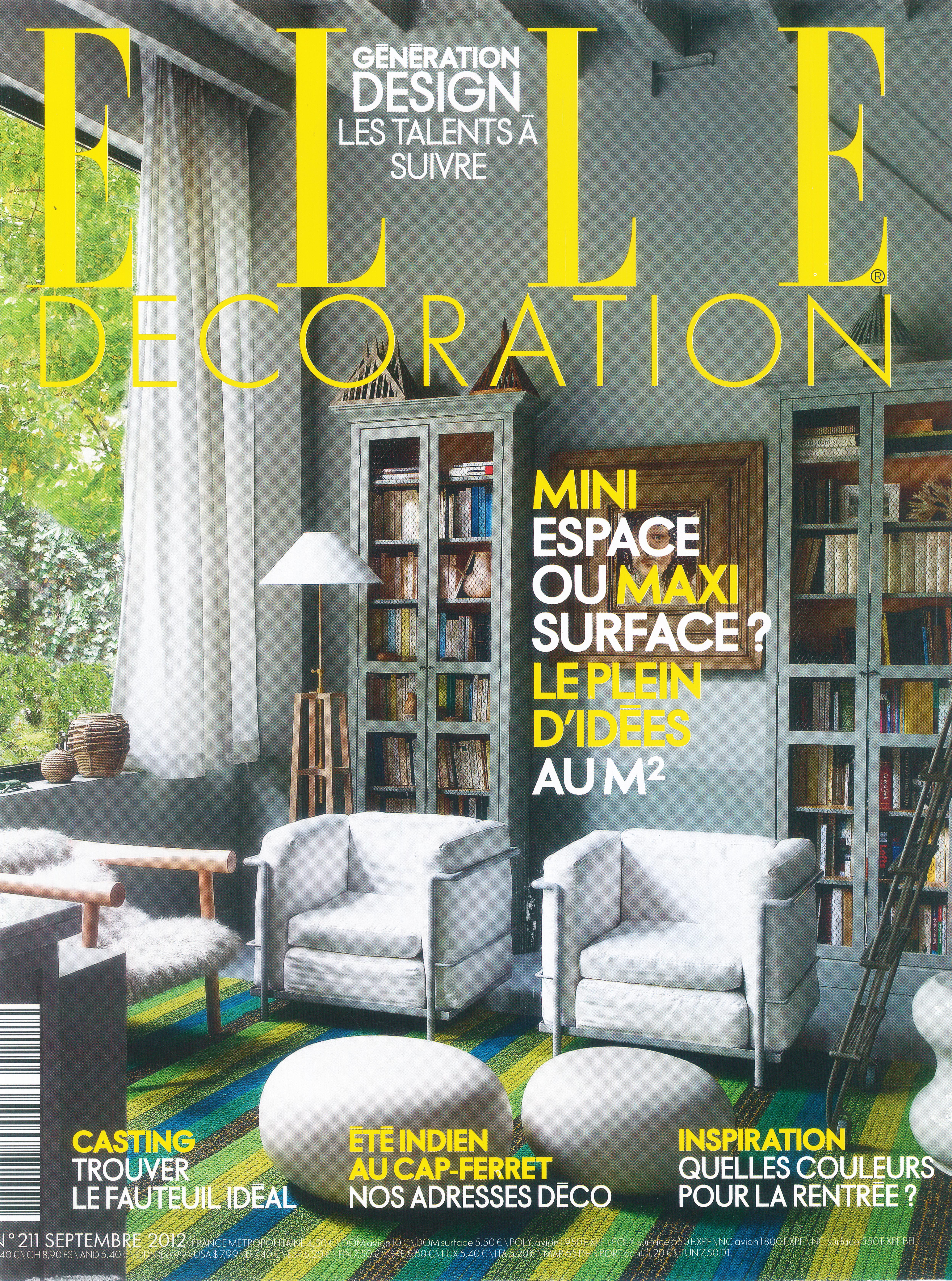 Elle decoration september2012 drupal for Elle decoration france